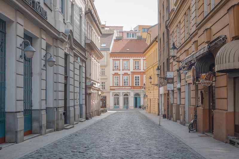 Bratislava Altstadt Slowakei