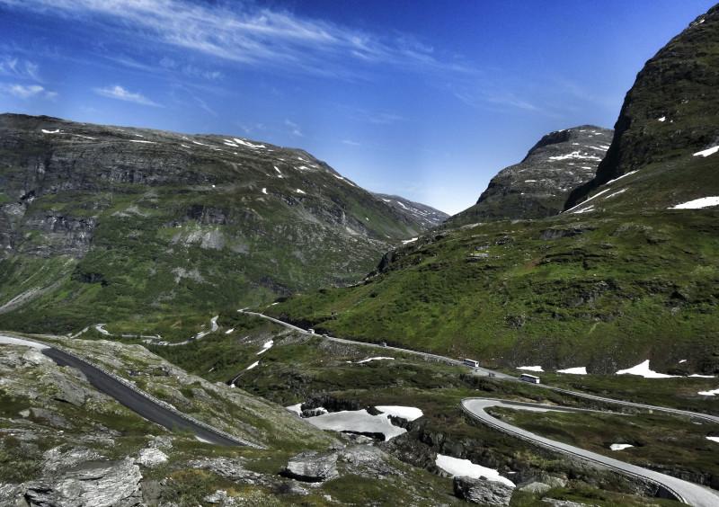 Geiranger Norwegen