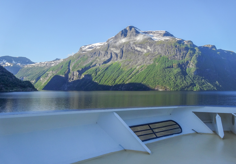 Norwegen Kreuzfahrt Geirangerfjord Fjorde