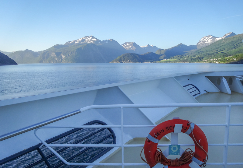 Norwegen Kreuzfahrt Geirangerfjord