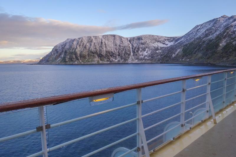 Norwegen Kreuzfahrt Nordkap Polarkreis Fjorde