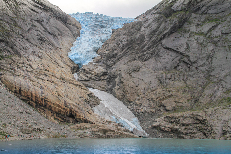 Norwegen Kreuzfahrt Olden Briksdal Gletscher