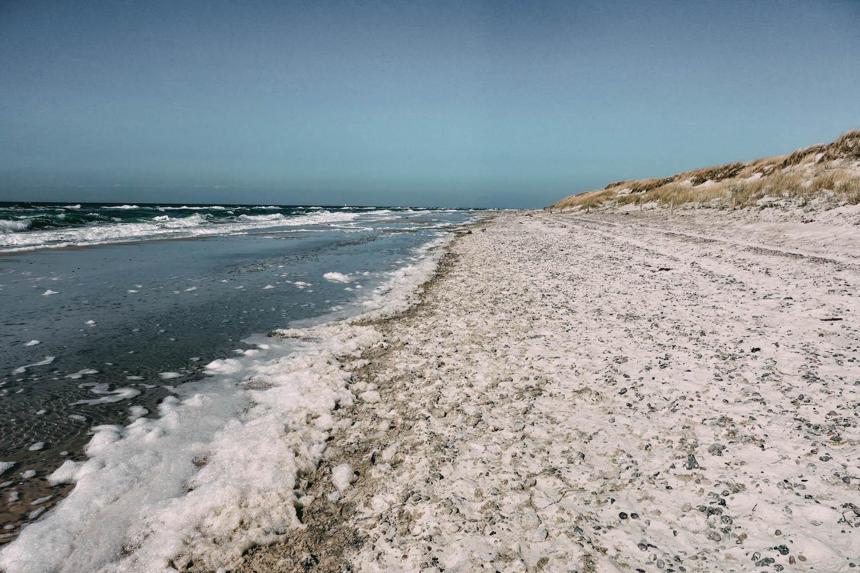 Ostsee Fischland Darss Zingst Prerow Weststrand