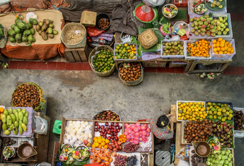 Bali Denpasar Markt