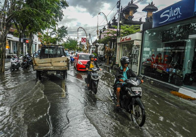 Bali Indonesien Regenzeit