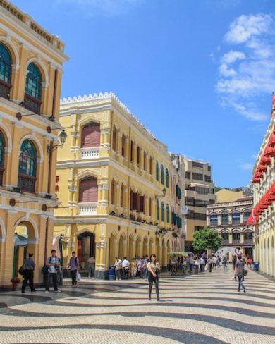 Largo do Senado Macau China