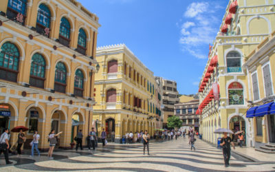 Largo do Senado Macau China