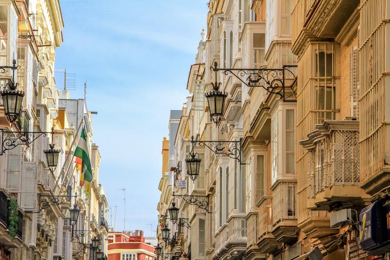 Cadiz Städterip Europa