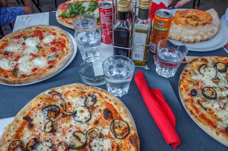 Pizza Cannobio Italien