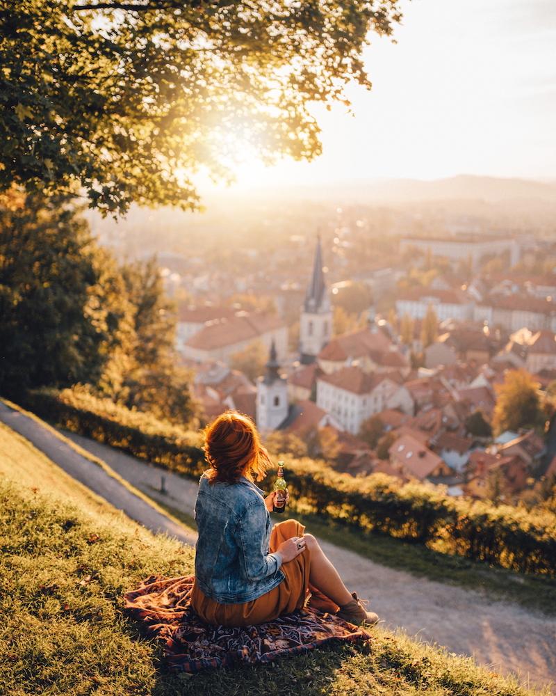 Städtetrip in Europa Ljubljana
