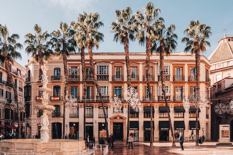 Städtetrip in Europa Malaga