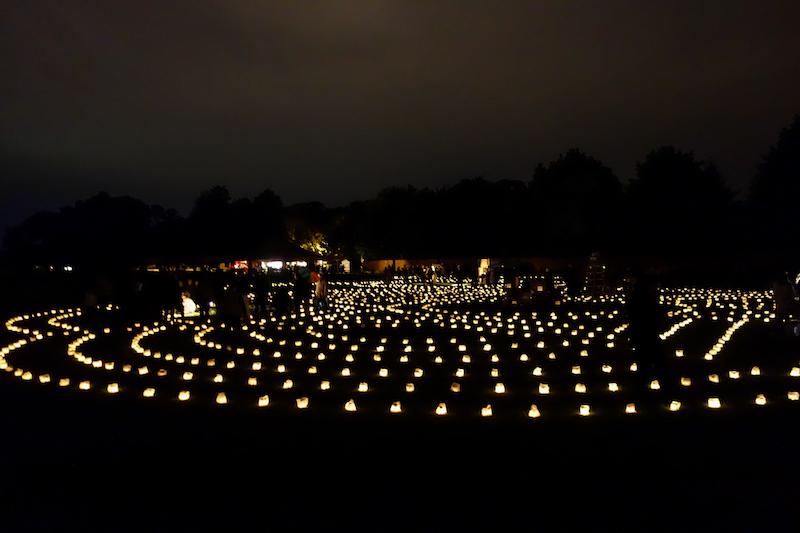 Die große Reise Lichterlabyrinth