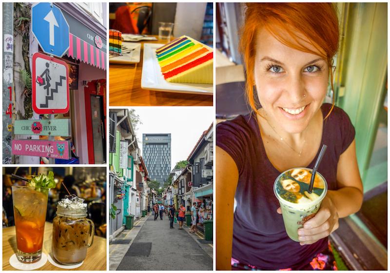 Kampong Glam Haji Lane Singapur
