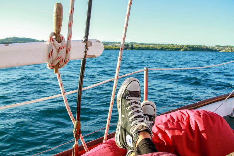 Neuseeland Lake Taupo
