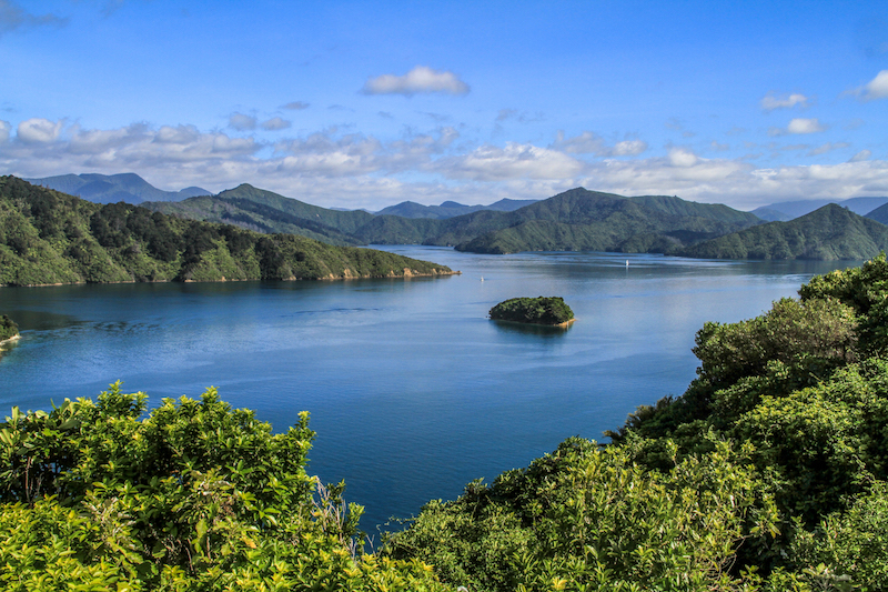 Neuseeland Marlborough Sound