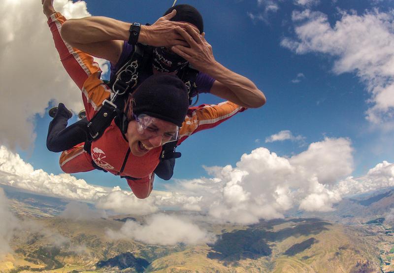 Neuseeland Skydive Wanaka