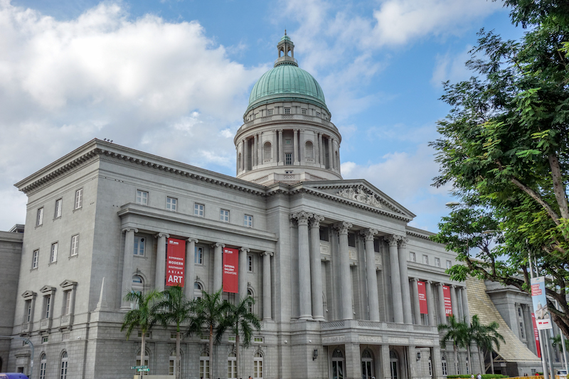 Rathaus City Hall Singapur