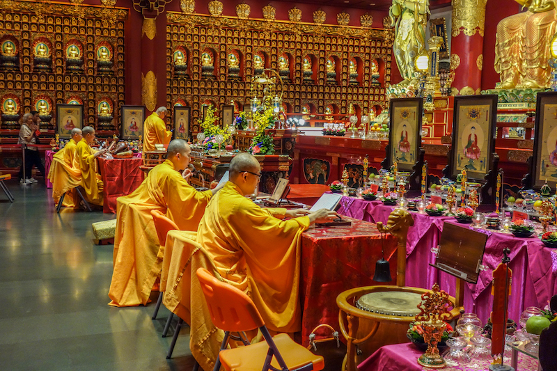 Singapur Buddha Tooth Relic Temple