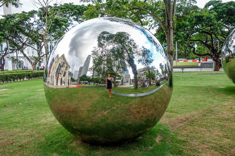 Singapur Kolonialviertel