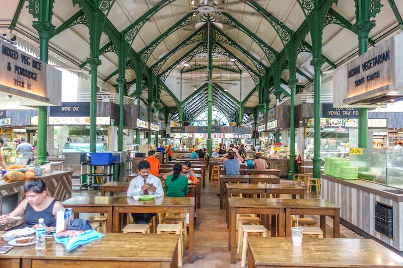 Singapur Lau Pa Sat Food Hawker