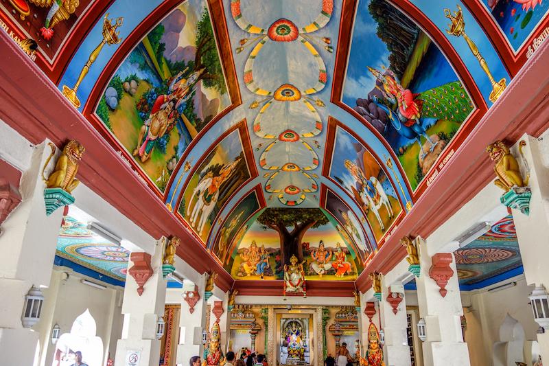 Singapur Sri Mariamman Tempel