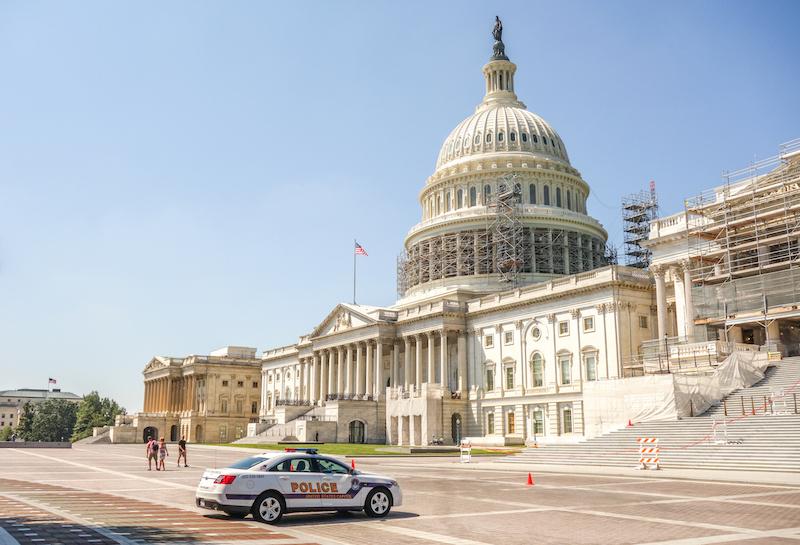 Washington DC US Capitol