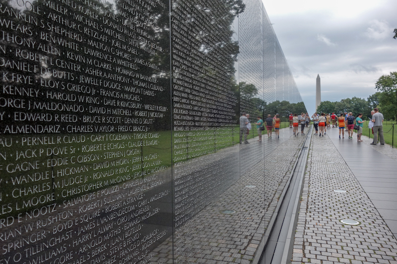Washington DC Vietnam War Memorial