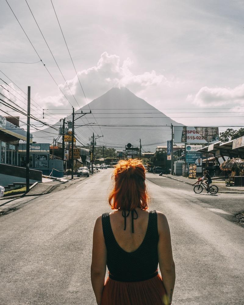 Vulkanausbruch Costa Rica