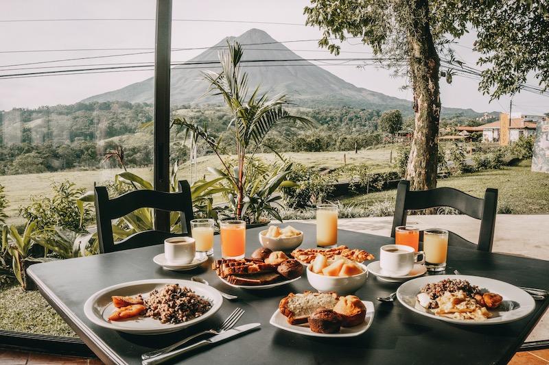 Costa Rica Rundreise Hotel Vulkan Arenal