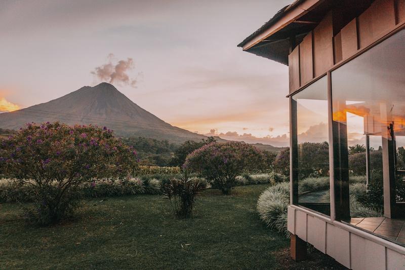 Costa Rica Rundreise Unterkunft La Fortuna