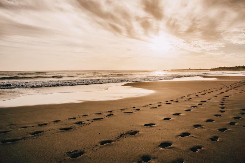 Puerto Viejo Sonnenuntergang Strand