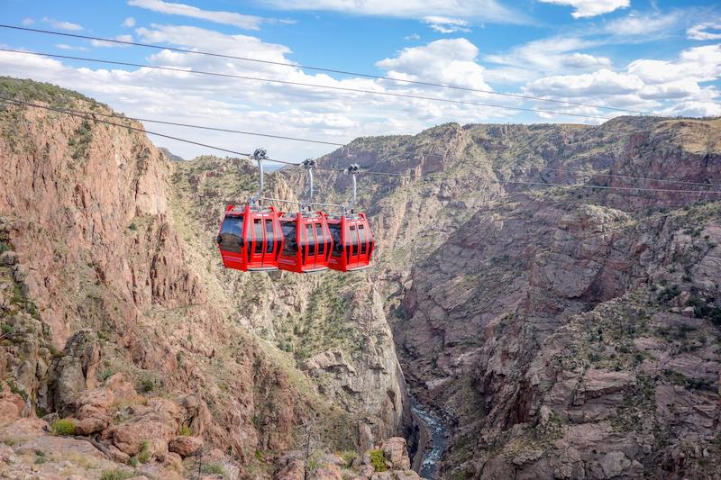 Colorado Sehenswuerdigkeiten Royal Gorge
