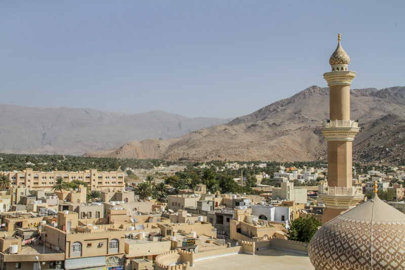 Oman Nizwa Moschee