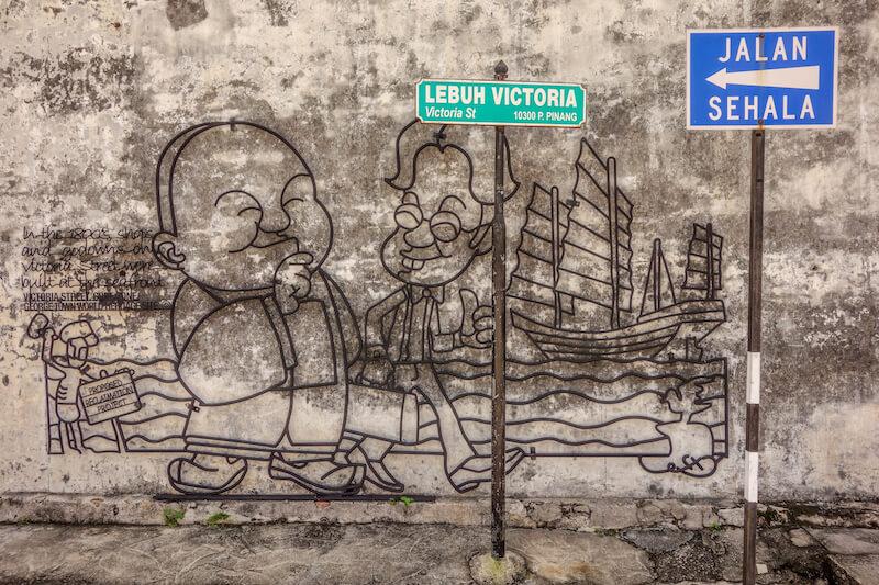 George Town Penang Streetart Malaysia