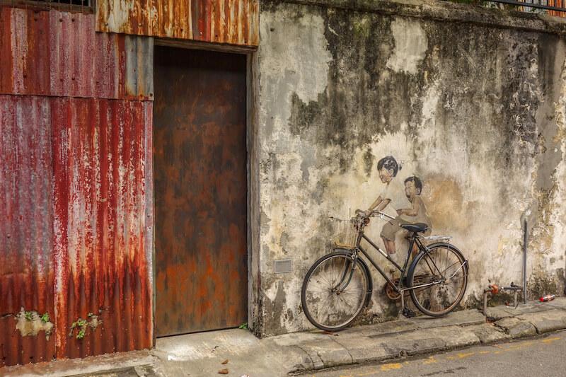 Malaysia George Town Streetart