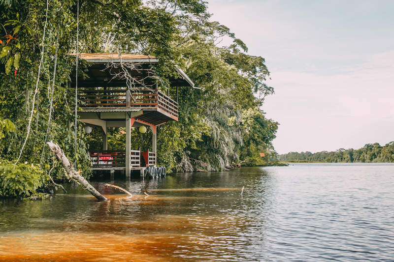 Tortuguero Nationalpark Kanal