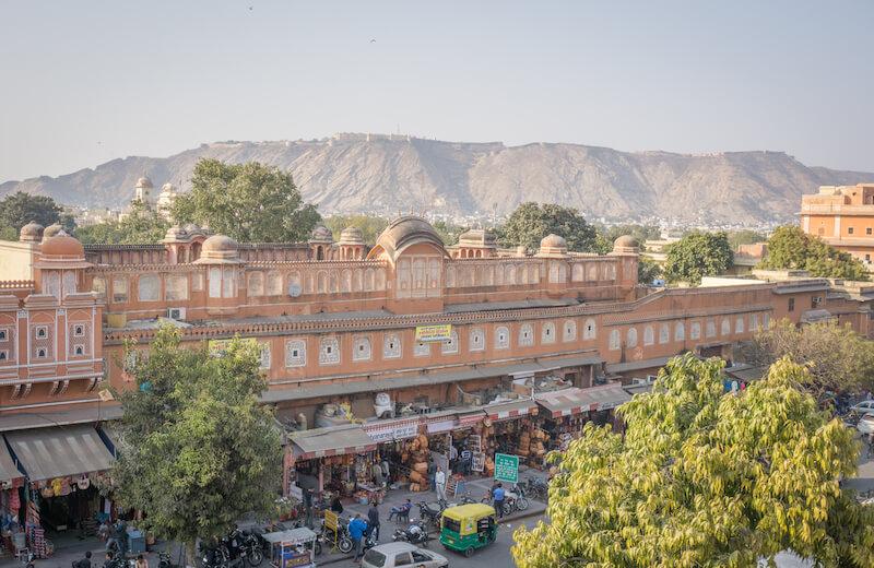 Jaipur Altstadt Hawa Mahal