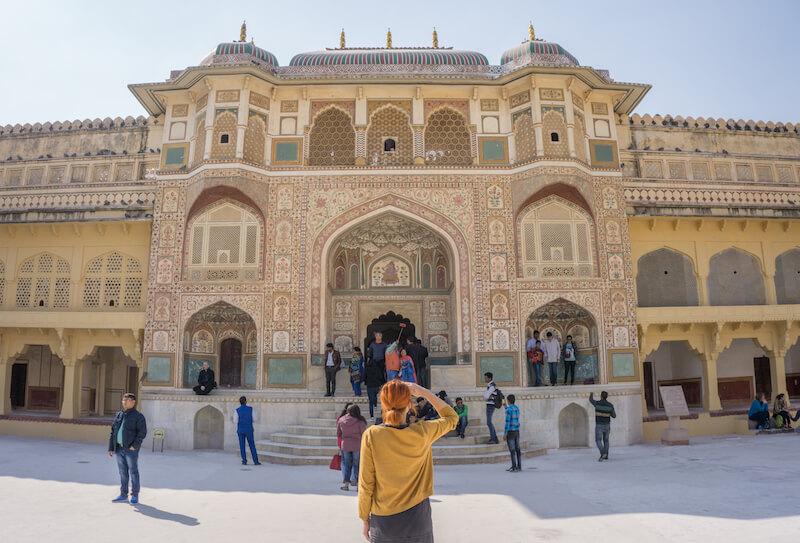 Jaipur Amber Fort Rajasthan
