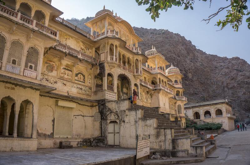 Jaipur Galta Ji Monkeytempel