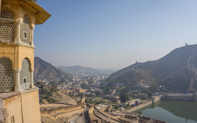 Jaipur Sehenswuerdigkeiten Amber Palace