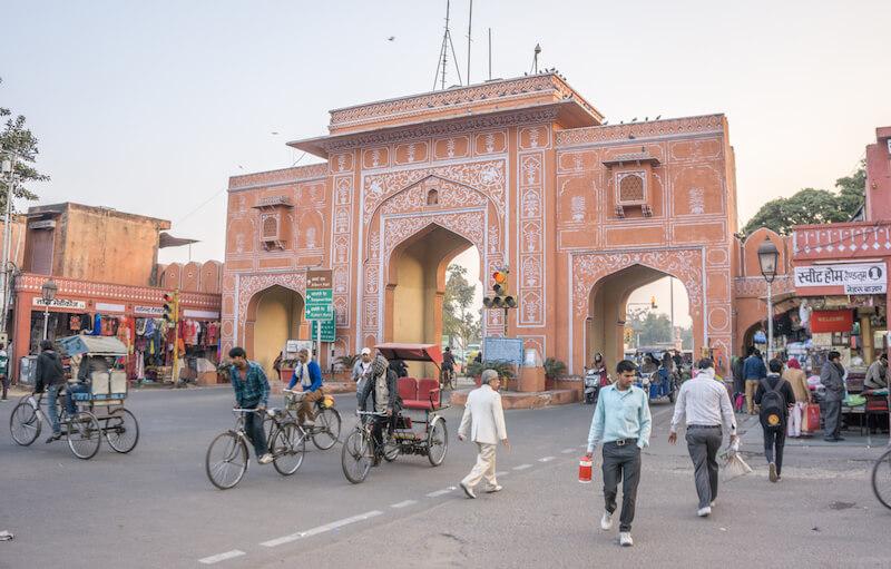 Jaipur Singh Pol Altstadt