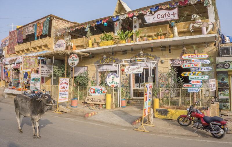 Jaisalmer Fort Rajasthan Cafe