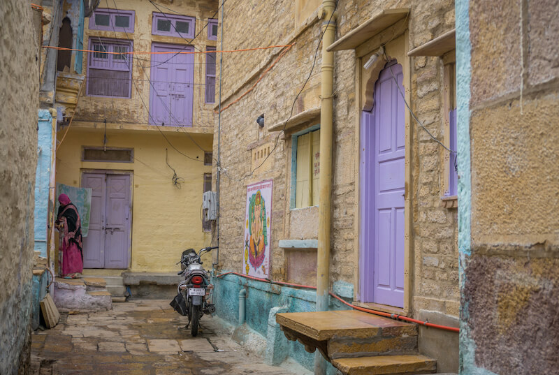 Jaisalmer Fort Rajasthan Indien