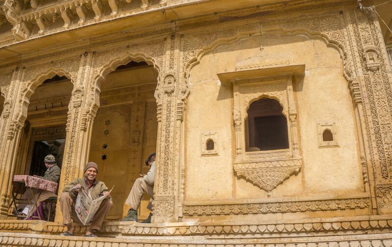 Jaisalmer Haveli Rajasthan Indien