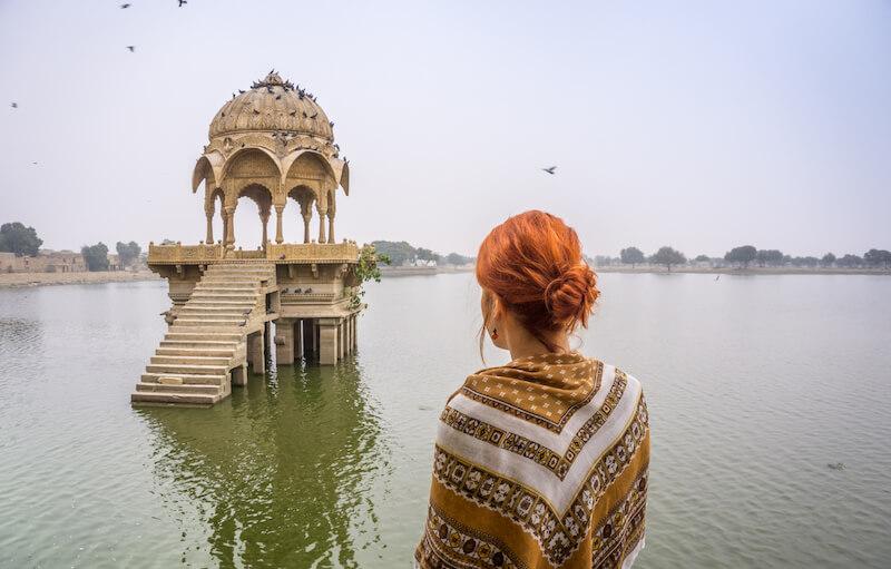 Jaisalmer Rajasthan Gadisar Lake