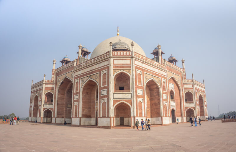Nordindien Rundreise Delhi Humayan Mausoleum