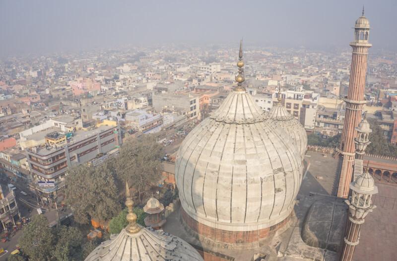 Nordindien Rundreise Delhi Jama Masjid