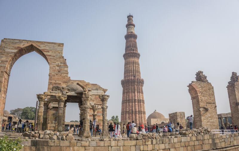 Nordindien Rundreise Delhi Qutb Minar