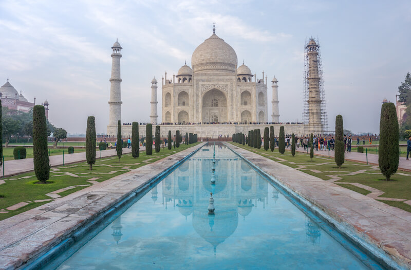 Nordindien Rundreise Taj Mahal Agra