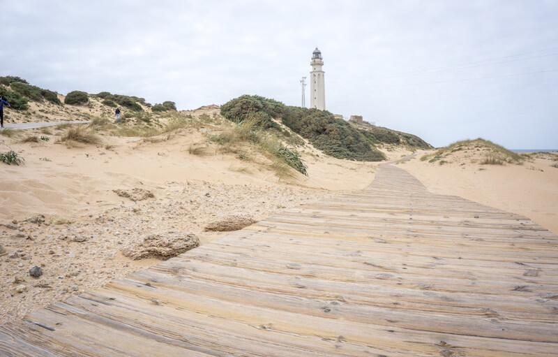 Andalusien Kap Trafalgar Leuchtturm
